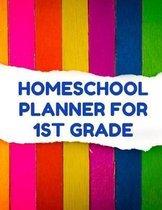 Homeschool Planner for 1st Grade