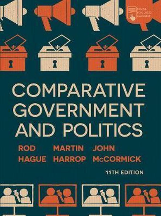 Boek cover Comparative Government and Politics van John Mccormick (Hardcover)