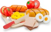 New Classic Toys - Speelgoed Snijset - Ontbijt op Snijplank