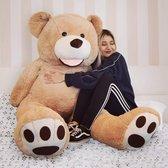 MikaMax Grote Teddybeer XL - Knuffeldier - Knuffelbeer -  Extra Groot - 160 cm