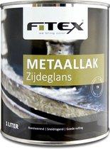 Fitex-Metaallak-Zijdeglans-Gelders Blauw U4.15.10 1 liter