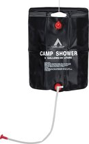 Bo-Camp Solar Douche - Camp Shower - 20 Liter - Zwart