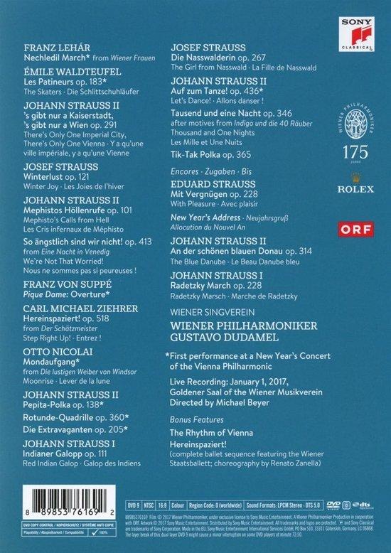 Wiener Philharmoniker - New Year's Concert 2017 - Wiener Philharmoniker