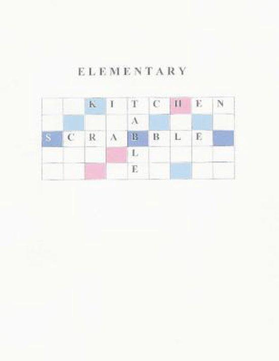Elementary Kitchen Table Scrabble