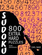 Sudoku 800 Extra Hard Puzzles with Solutions