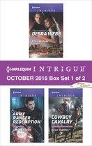 Omslag Harlequin Intrigue October 2016 - Box Set 1 of 2