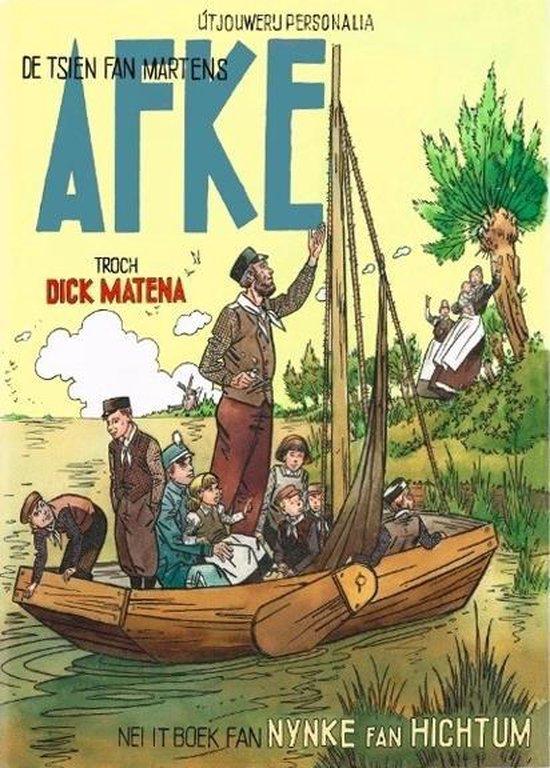 Afkes tiental (fries) de tsien fan martens afke - Dick Matena |