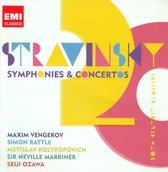 Stravinsky: Symphonies; Concertos