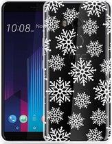 HTC U11 Plus Hoesje Snow