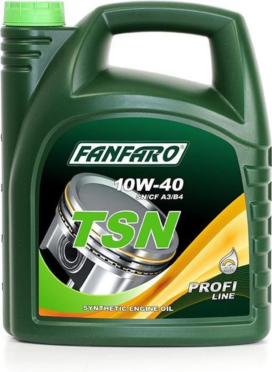 Fanfaro TSN   10W-40   Synthetische Motorolie   5 Liter