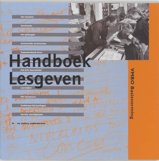 Handboek lesgeven in de basisvorming vmbo - E. de Boer | Fthsonline.com
