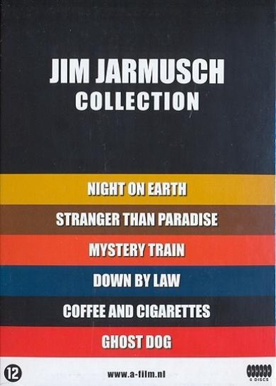 Cover van de film 'Jim Jarmusch Collection'