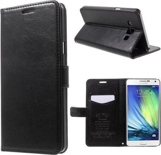 Kds PU Leather Wallet hoesje Samsung Galaxy Ace 4 zwart