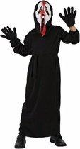 Halloween - Schreeuwend spook kostuum voor kinderen 128