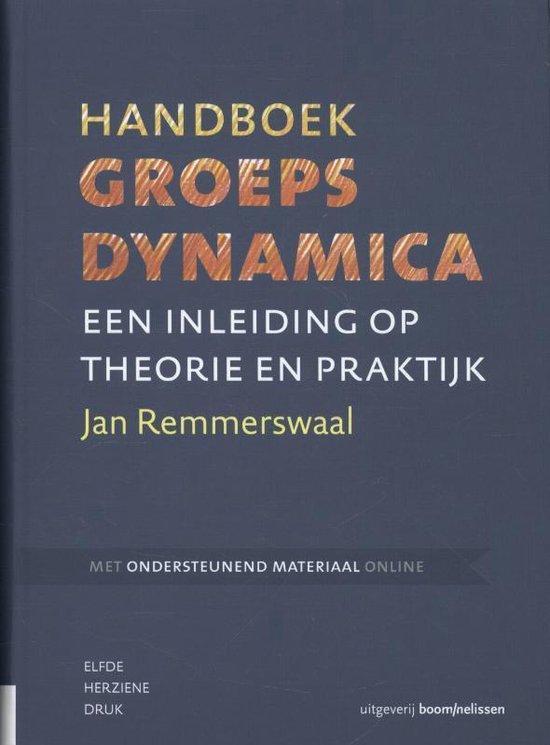 Afbeelding van Handboek groepsdynamica