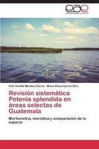 Revision Sistematica Petenia Splendida En Areas Selectas de Guatemala