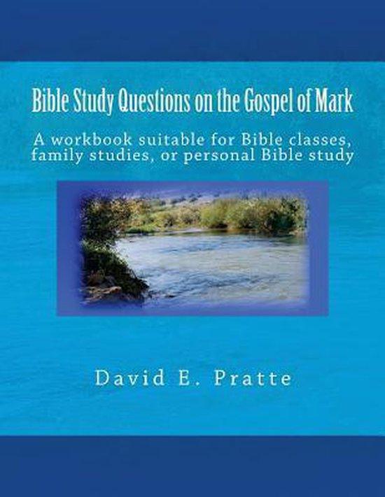 Boek cover Bible Study Questions on the Gospel of Mark van David E Pratte (Paperback)