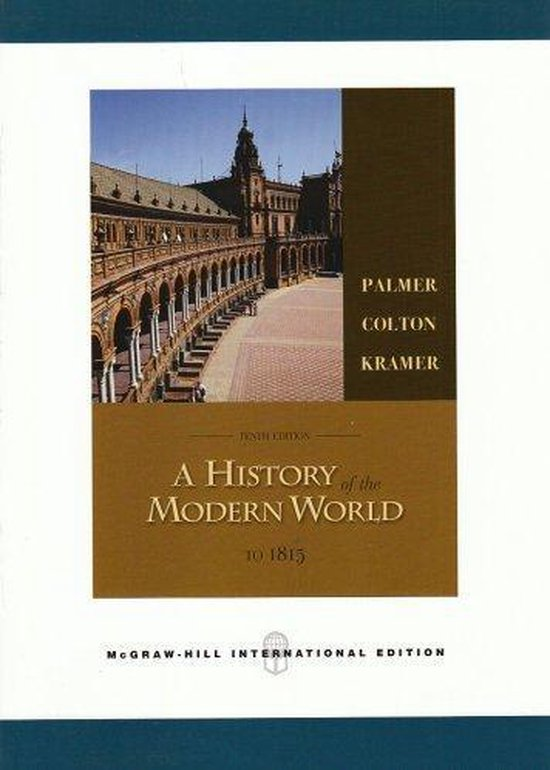 Boek cover History of the Modern World van R.R. Palmer (Hardcover)