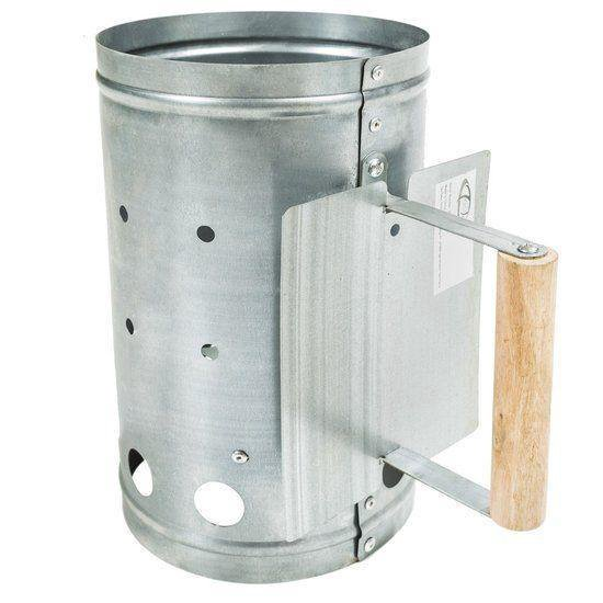 BBQ Collection Houtskoolstarter - Metaal - 27x16cm