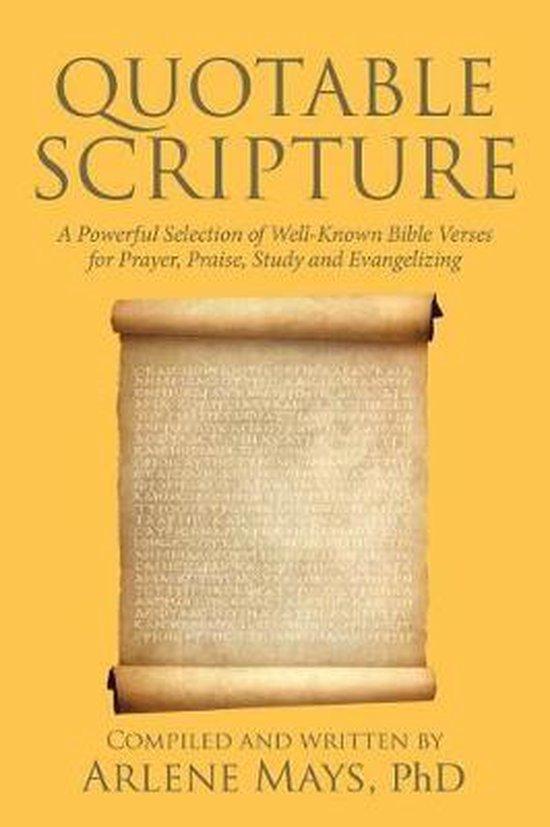 Quotable Scripture