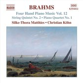 Brahms:Four Hand Piano Music12