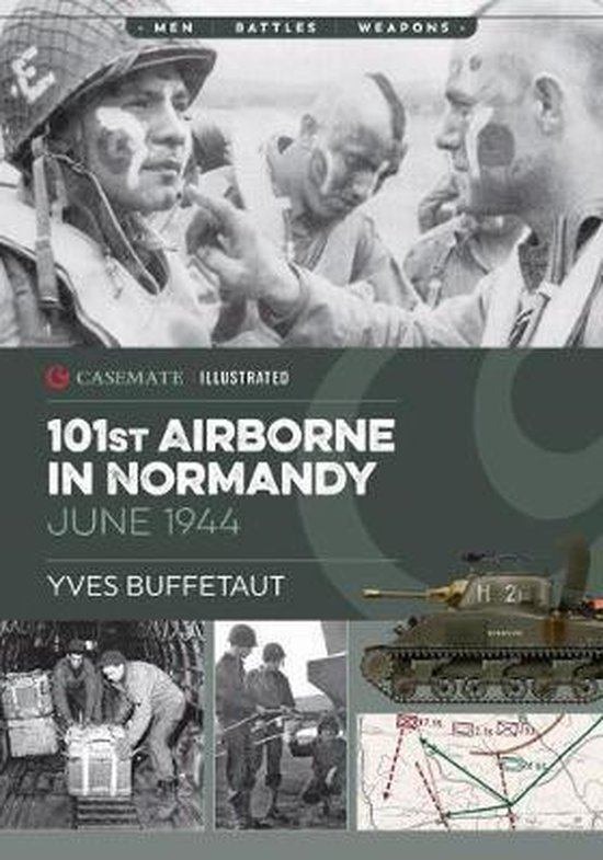 Boek cover 101st Airborne in Normandy van Yves Buffetaut