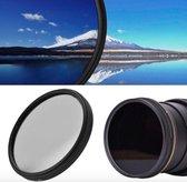 Polarisatiefilter 52mm CPL – Nikon / Canon / Sony Camera Lens Filter – 52CPL