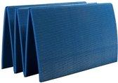 Cawila Fitnessmat - 180 x 50 cm - Blauw