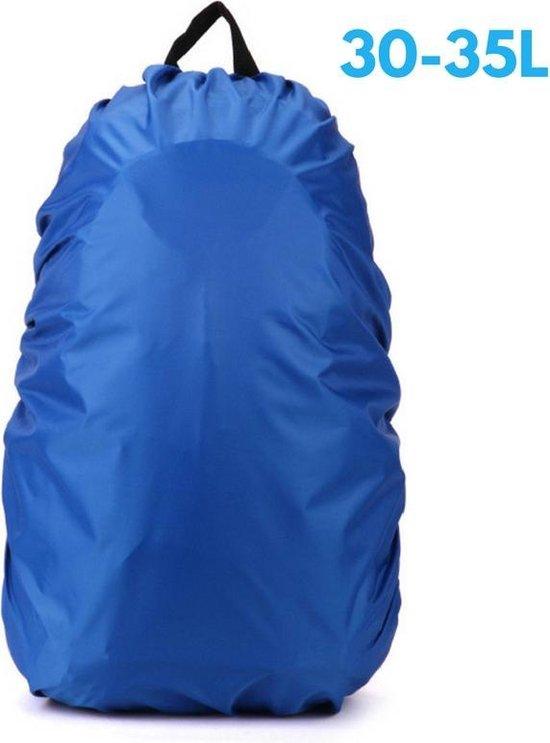 Flightbag - Waterdichte 35 Liter Regenhoes / Regencover voor Backpack of Rugzak – Blauw