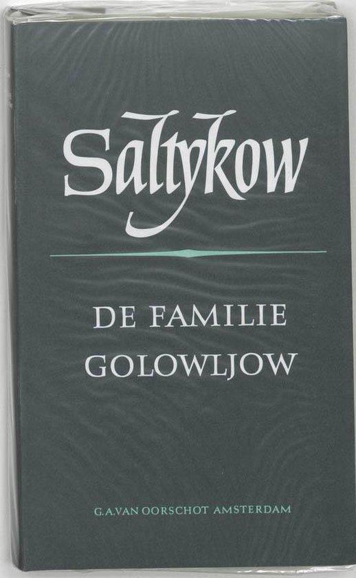 Cover van het boek 'De familie Golowljow' van M.E. Saltykov