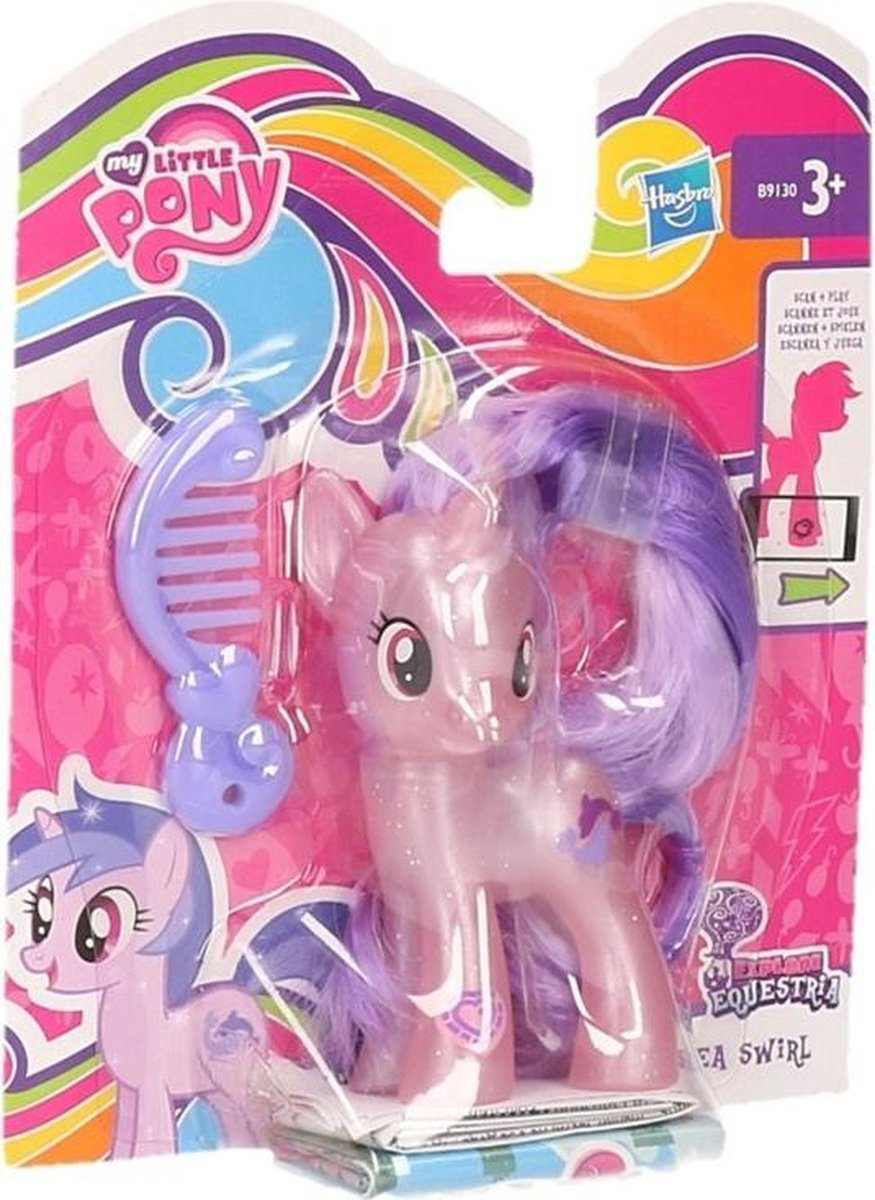 My Little Pony Sea Swirl speelfiguur 8 cm - My Little Pony