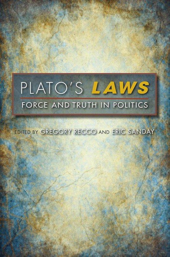 Boek cover Platos Laws van Robert D. Metcalf (Onbekend)