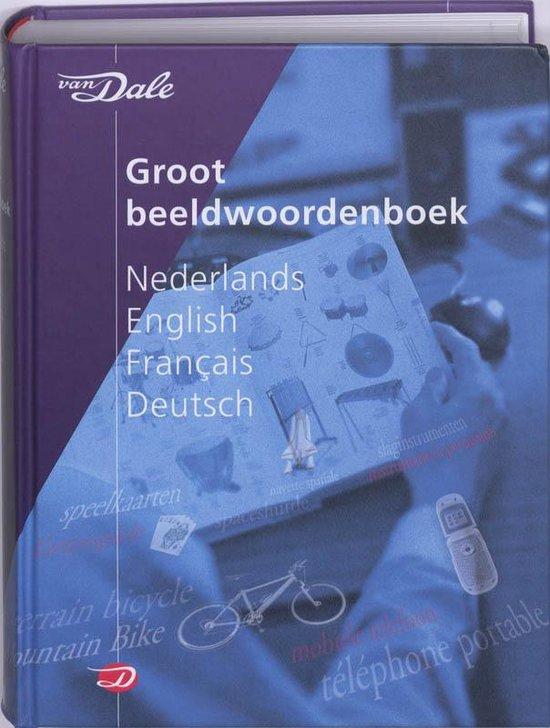Boek cover Van Dale Large Picture Dictionary van Jean-Claude Corbeil (Hardcover)