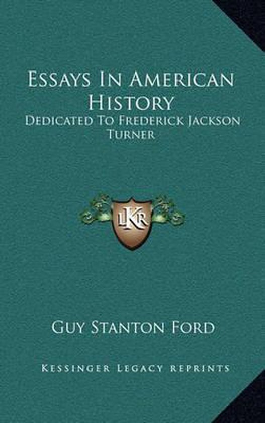 Essays in American History
