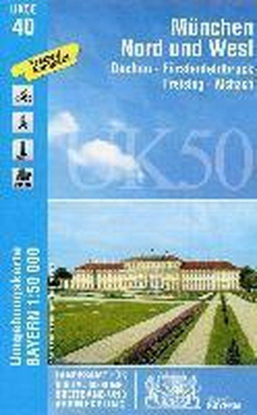 München Nord und West 1 : 50 000