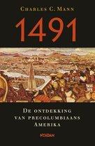 Boek cover 1491 van charles c. mann (Onbekend)