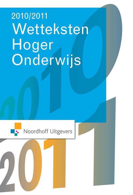 Wetteksten Hoger Economisch Onderwijs 2010-2011 - Nvt.   Fthsonline.com