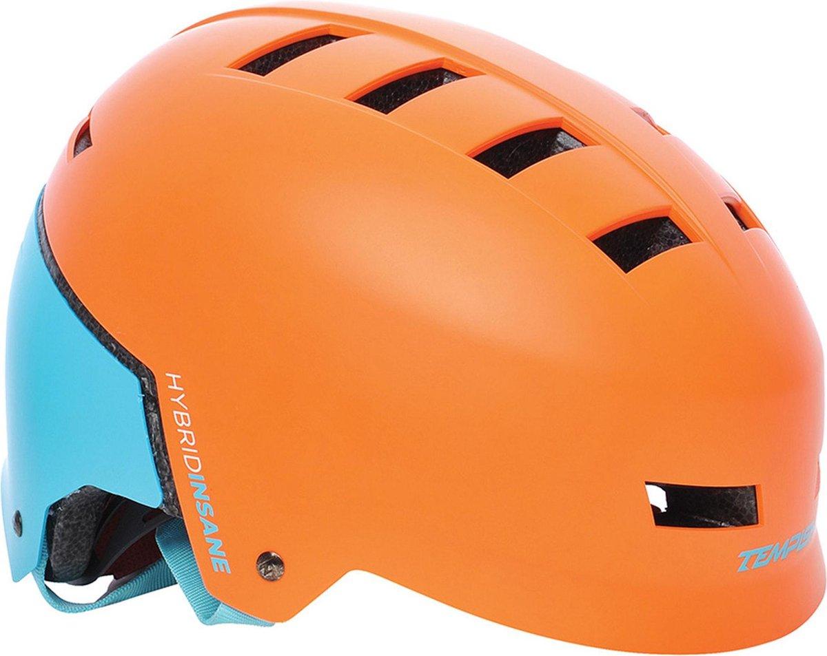 Tempish Sporthelm - UnisexKinderen en volwassenen - oranje/blauw