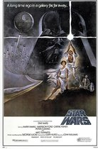Star Wars Poster Style 'A' - episode IV-A New Hope-61 x 91.5 cm.