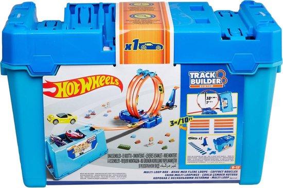 Afbeelding van Hot Wheels Track Builder Looping Challenge - Racebaan