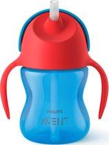 Philips Avent SCF796/01 Drinkbeker met rietje - 9m+ - Blauw/rood