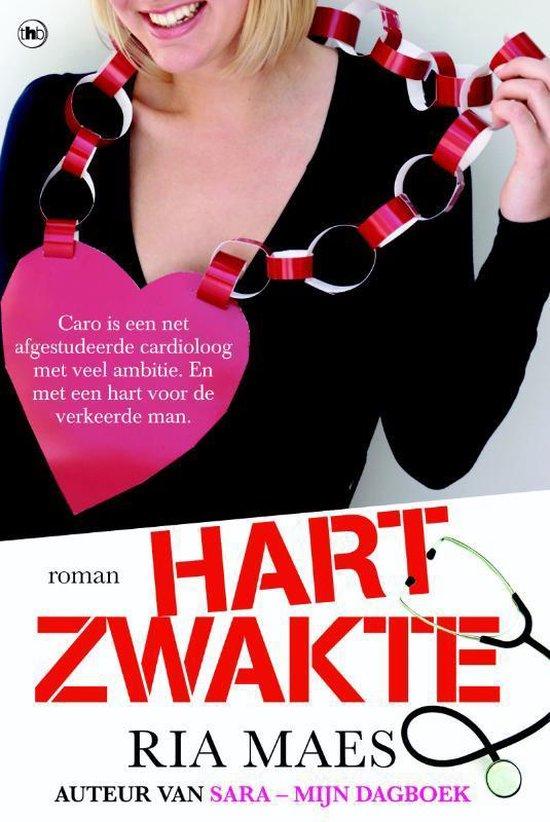 Cover van het boek 'Hartzwakte' van R. Maes