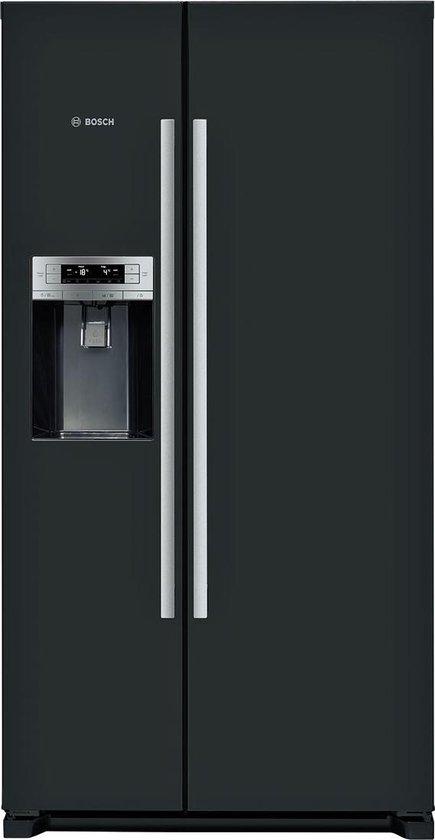 Koelkast: Bosch KAD90VB20 Amerikaanse koelkast - Zwart, van het merk Bosch