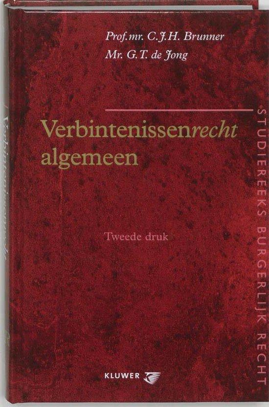 Verbintenissenrecht algemeen - C.J.H. Brunner | Fthsonline.com