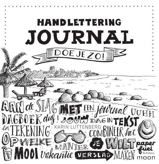 Boek cover Handlettering journal doe je zo van Karin Luttenberg (Paperback)