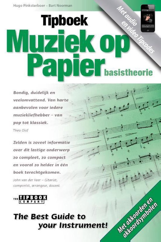 Afbeelding van Tipboek - Muziek op papier