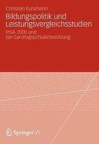 Bildungspolitik Und Leistungsvergleichsstudien