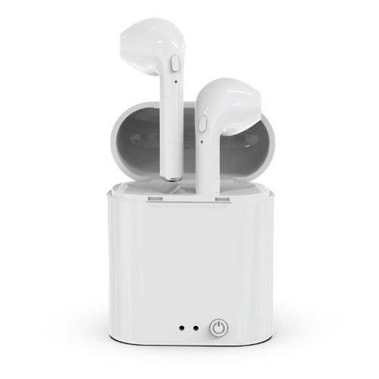 S80 - Draadloze Bluetooth Oordopjes - Oortjes Met Oplaadcase - Wit