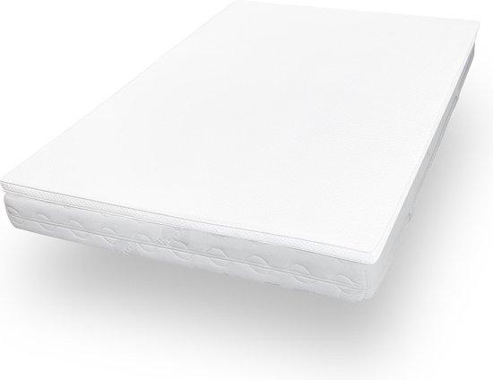 Lumaland - Matras topper - Comfort schuim - Visco elastisch orthopedisch topdekmatras - 160 x 200 cm + 3,5 cm