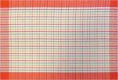 Jorzolino Karo Theedoek (12 Stuks) - 50x70 cm - Red